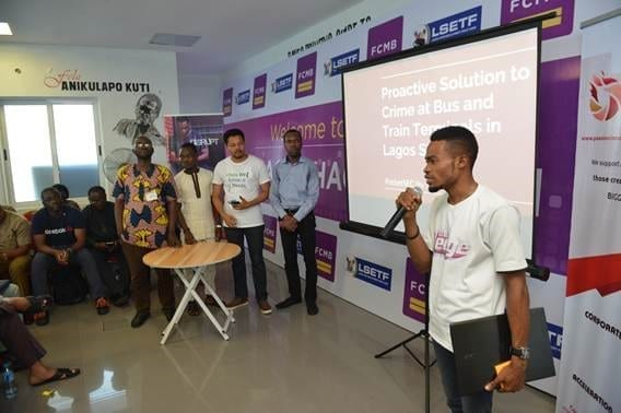 A Cross-section of Participants at the Secure Lagos Hackathon 2018