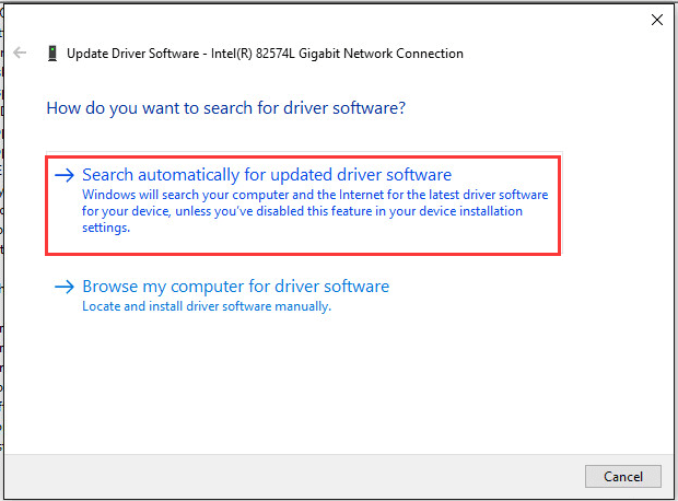 Reinstall Audio or Network Drivers