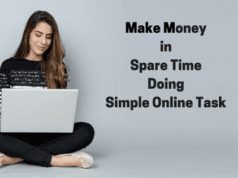 Make Money in spare time Doing simple online Task