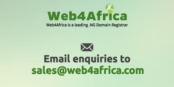 Web4Africa Contact Details