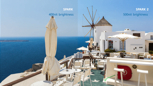 Tecno Spark 2 Brightness