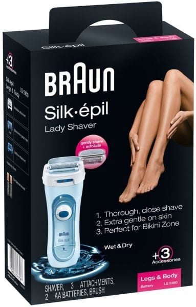 Braun Silk Epil Female Lady Shaver