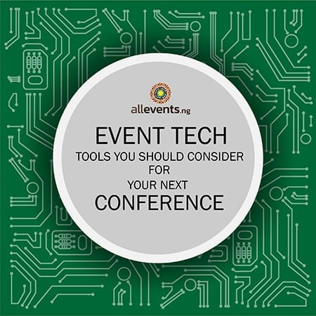 event tech tools, conference in Nigeria, Allevents selfie mirror photo booth
