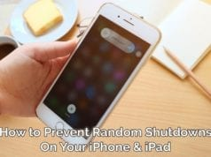 How to Prevent Random Shutdowns on Your iPhone Or iPad