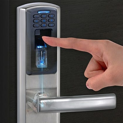 M100 Door Lock with Fingerprint Sensor