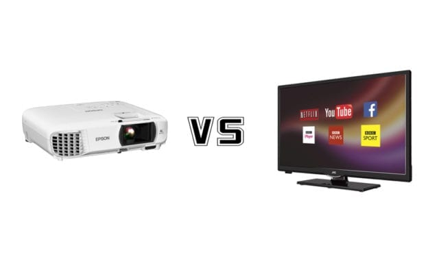 TVs vs Projector – Which One is Better?