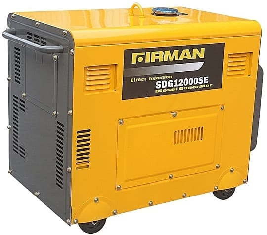 Best Small and Portable Diesel Generators: Firman SDG12000SE 7.5KVA