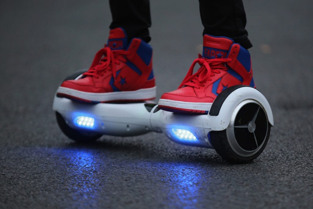 The incredible popularity of off-road hoverboards