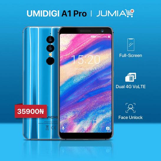 UmiDigi A1 Pro on Jumia