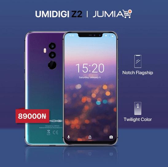UmiDigi Z2 Jumia