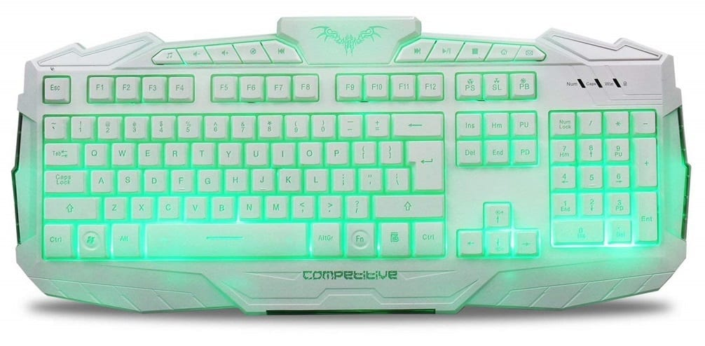 White Gaming Keyboard