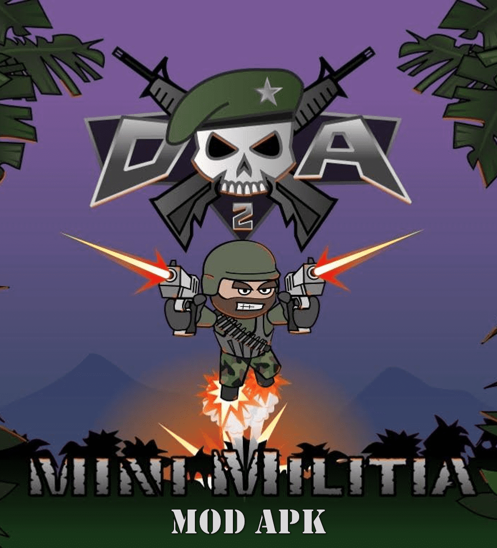 1. Doodle Army 2: Mini Militia Mod