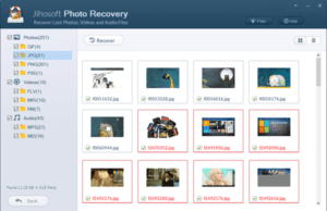 5. Preview Photos, Videos and Audio Files