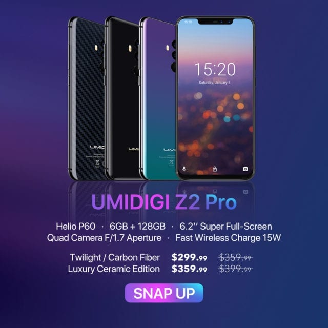 UmiDigi Z2 Pro Snap Up Deals