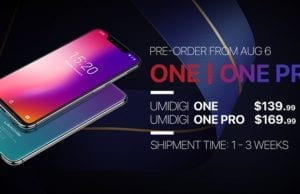 UMIDIGI One/One Pro Global Open Big Sale Exclusively Starts on AliExpress, Snap-up price as low as $139.99
