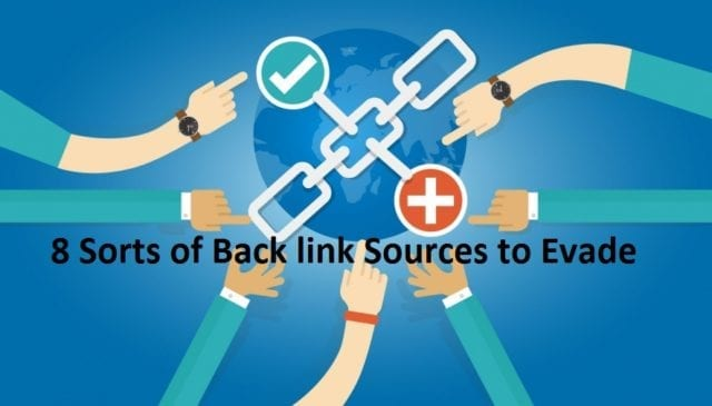 Sorts of Back link Sources to Evade