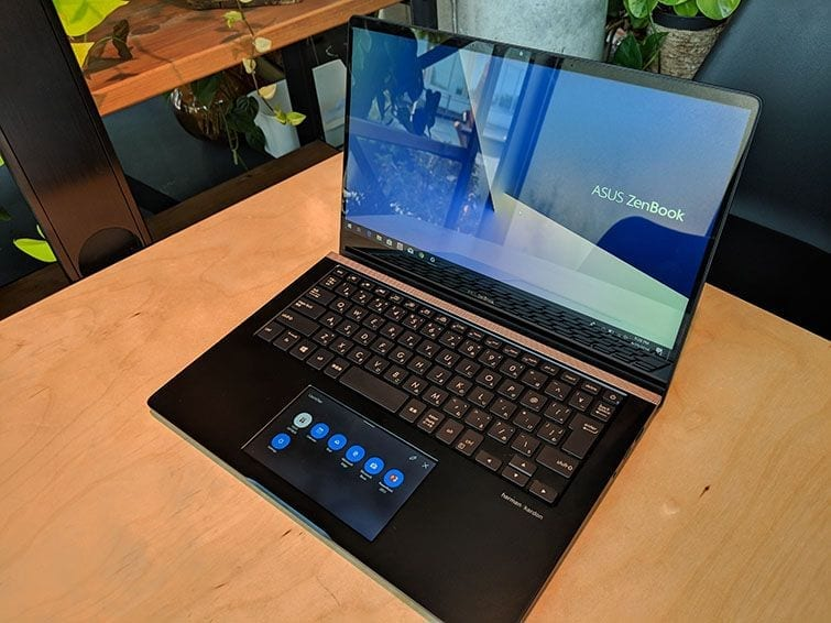 0d3b03253f666 Asus ZenBook Pro 14 with ScreenPad is a powerful portable PC ...