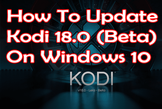 Kodi update