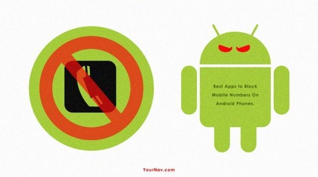 Best Android Apps to Block a Mobile Number