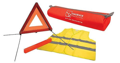 Reflective Vest and Triangles