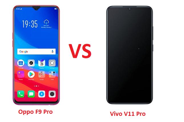 Oppo F9 Pro vs Vivo V11 Pro: Which One is Better? - Nigeria