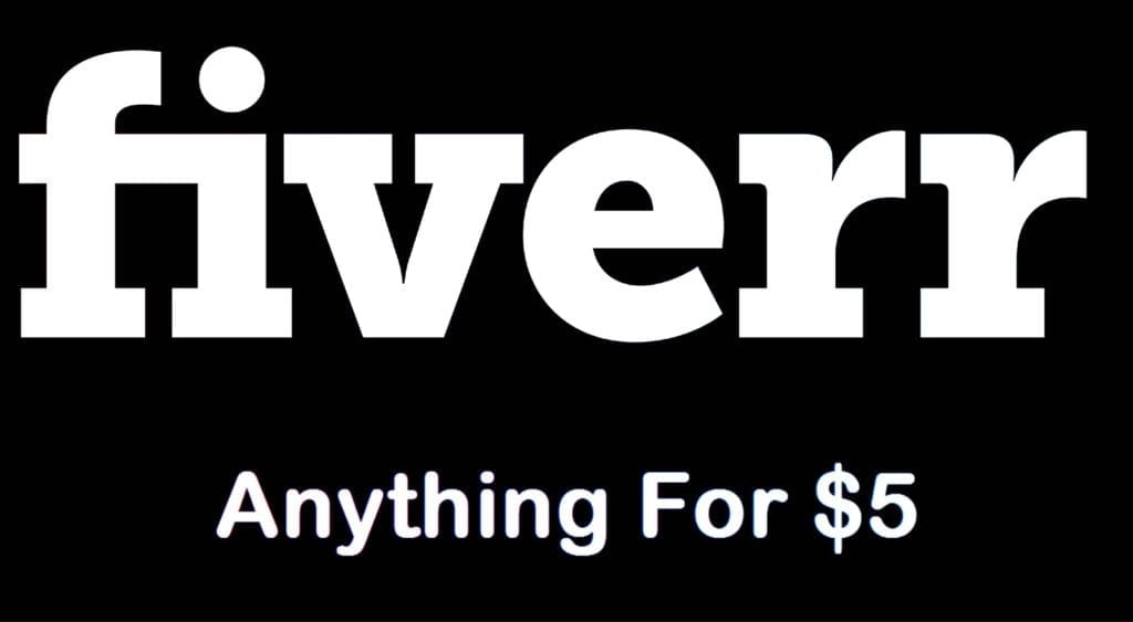 Anthing for $5 on Fiverr
