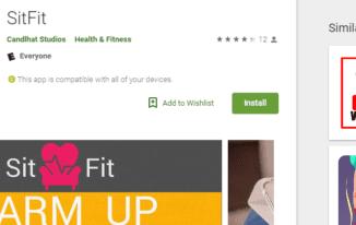 SitFit App
