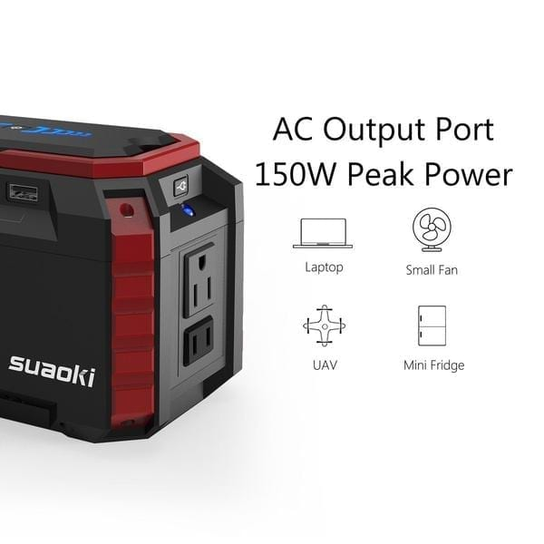 Suaoki S270 150Wh Portable Power Station