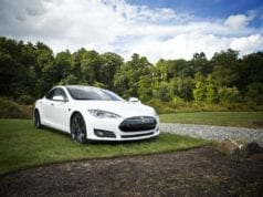 The stunning Tesla Model S