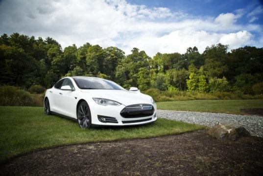 The stunning Tesla Model S