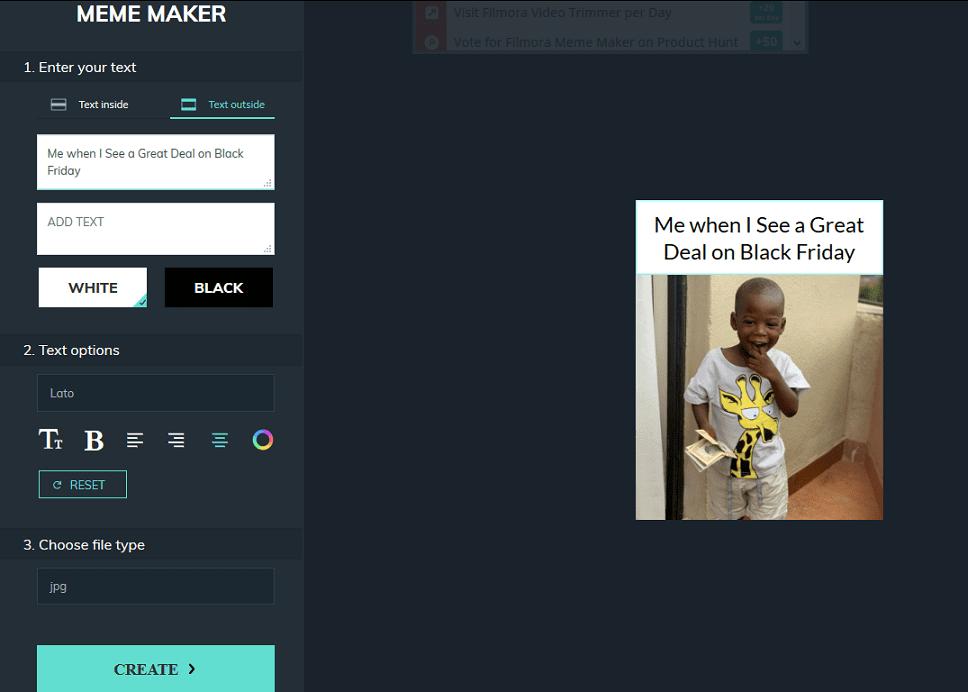 Flimora Meme maker
