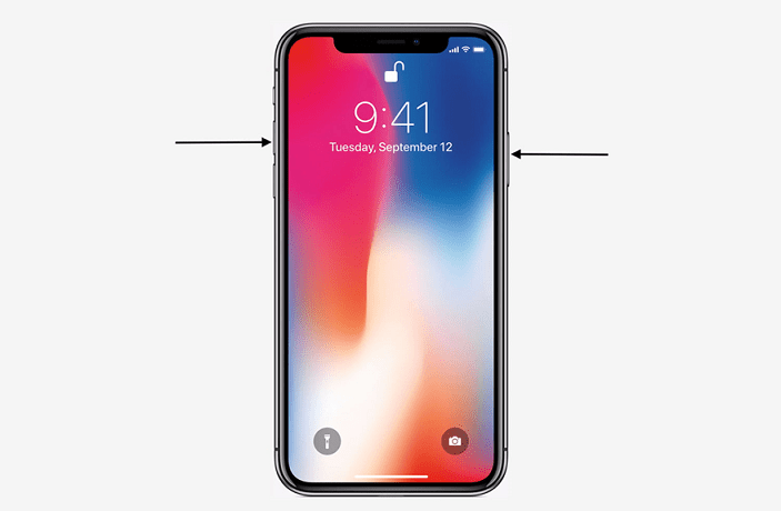 iPhone X Button