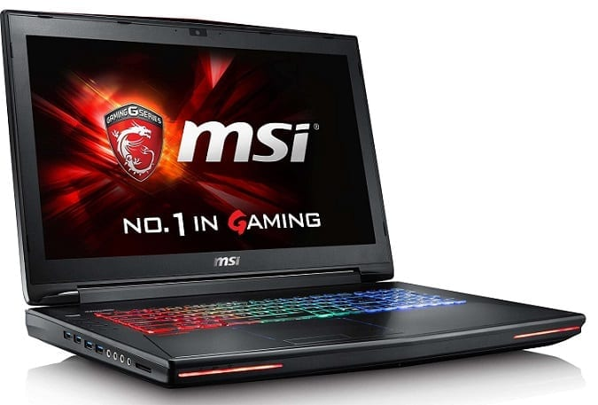 MSI GT72VR Dominator Pro VR Ready Laptop