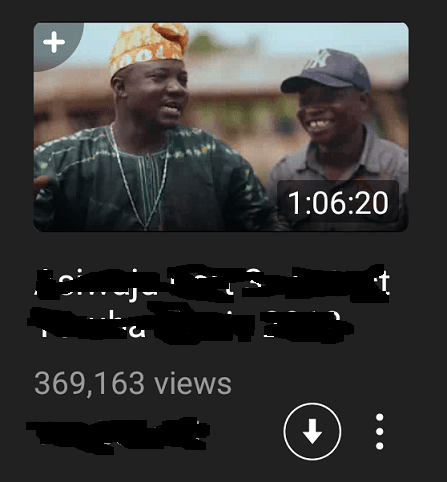 Video Download on Snaptube