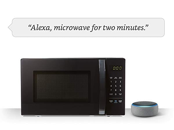 Alexa Microwave for 2 Minutes