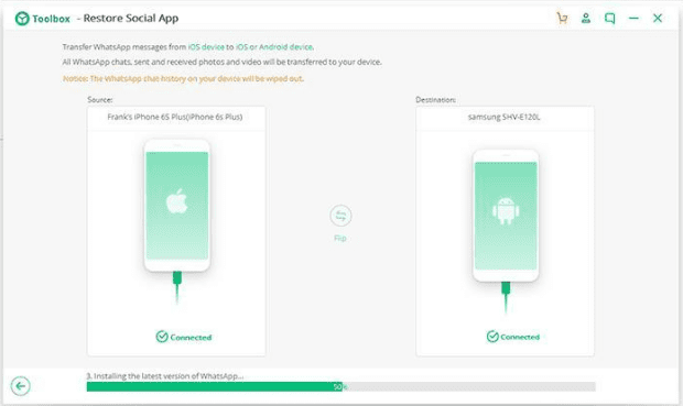 How to Transfer Your WhatsApp Data from iPhone to Android