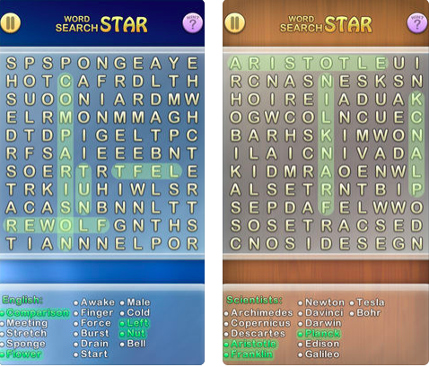 Word Search for iOS
