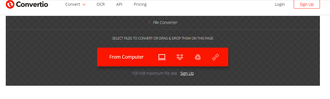 Convertio Online Video Converter