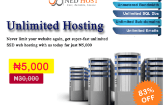 NedHost Introduces Super-fast Unlimited Web Hosting Promo