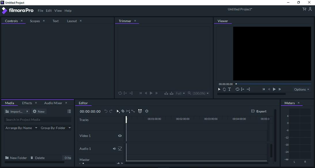 Filmora Pro Video Editor
