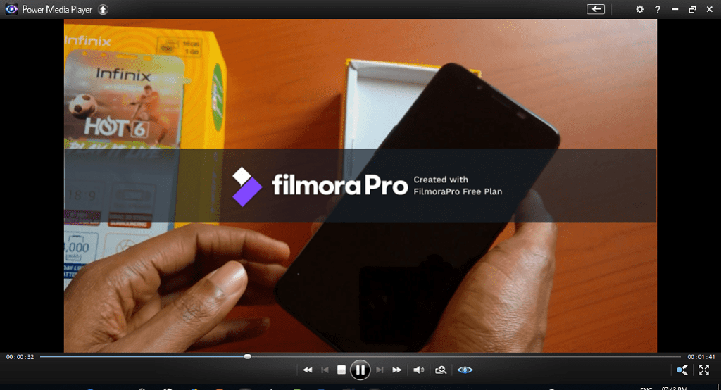 Filmora Pro Video Sample with Watermark