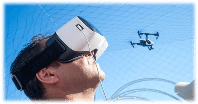 Top Drones with Virtual Reality Headset