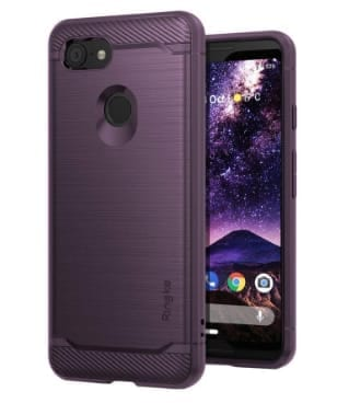 Rearth Ringke Onyx tough case – lilac purple for Google Pixel 3