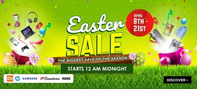 Jumia Easter Sale