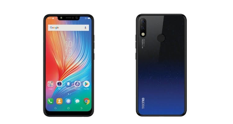 Image result for Tecno Spark 3 Pro