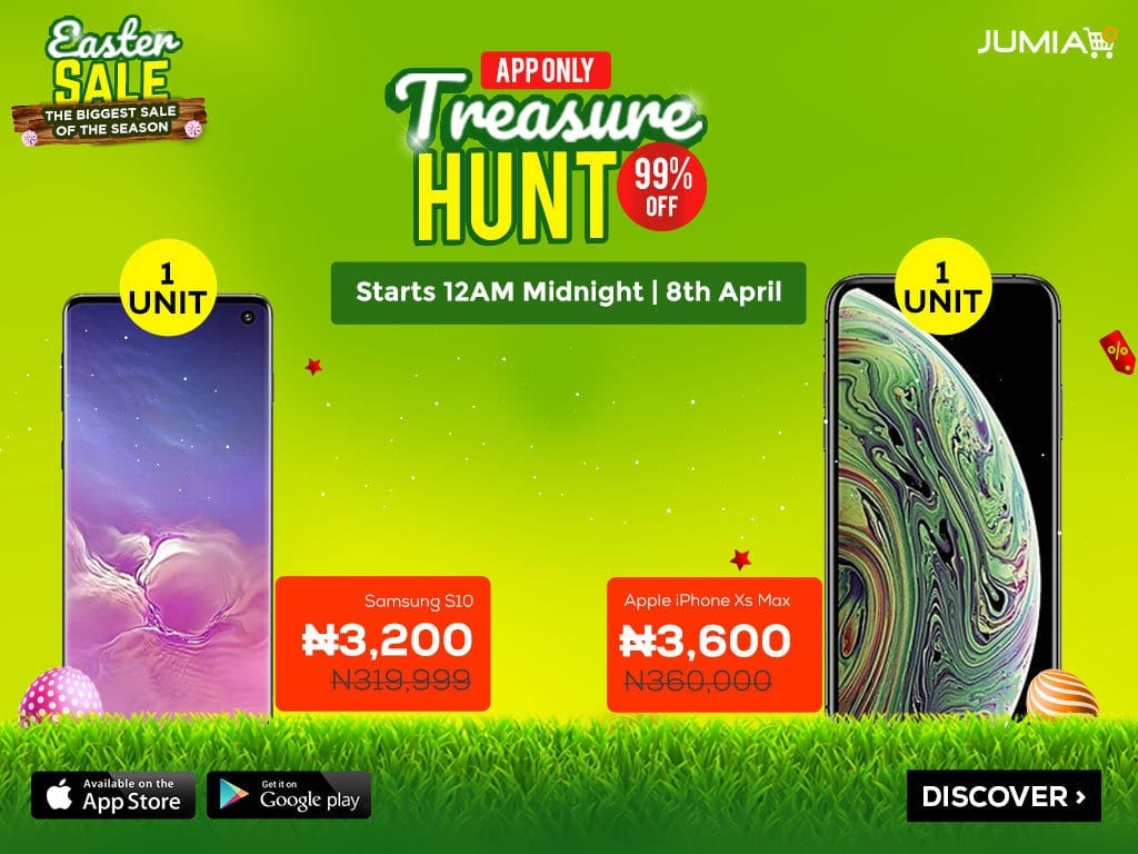 Jumia Easter Sale - Treasure Hunt