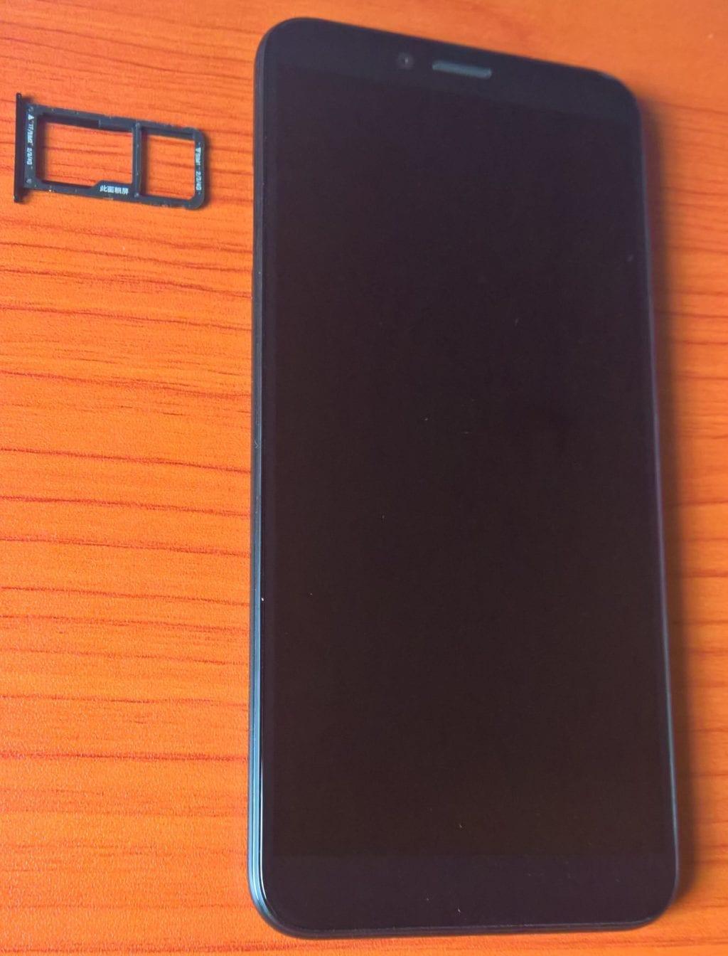 Lenovo K5 Play SIM Tray for SIM and memory card