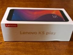 Lenovo K5 Play Unboxing