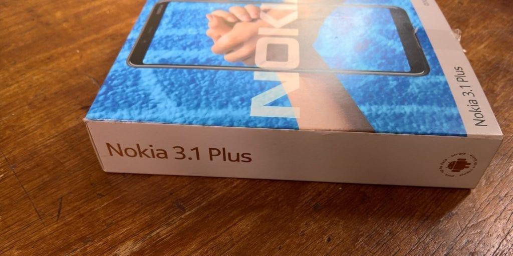 Nokia 3.1 Plus Box
