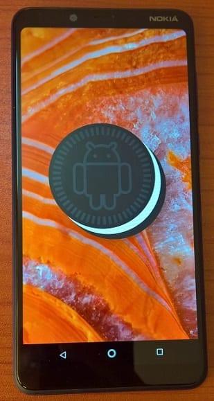Nokia 3.1 Plus with Android 8.1 Oreo
